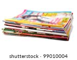 a stack of old colored...   Shutterstock . vector #99010004