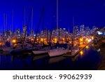 vancouver marina.  false creek... | Shutterstock . vector #99062939