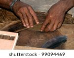 Manufacture Of Cigars At The...