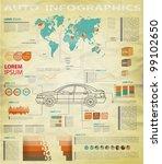 detail infographic vector... | Shutterstock .eps vector #99102650