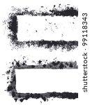 grunge frame   Shutterstock .eps vector #99118343