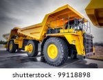 Large Haul Truck Ready For Big...