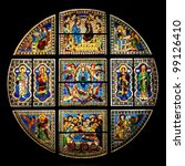 Xiii Century Stained Glass...