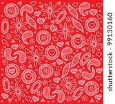 decorative design element.... | Shutterstock .eps vector #99130160