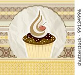 vector vintage pattern with...   Shutterstock .eps vector #99134996