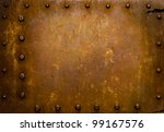 Rusted Metal Wall Plate With...