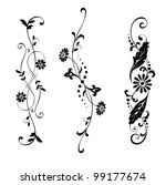 vector set elements for design... | Shutterstock .eps vector #99177674