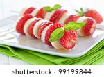 Fresh Strawberry Skewers With...