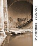 roman baths  bath  somerset  uk | Shutterstock . vector #99207014
