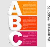 vector paper progress... | Shutterstock .eps vector #99207470