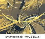 abstract background in yellow ... | Shutterstock . vector #99211616