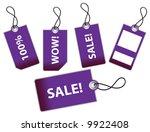 vector illustration of sale... | Shutterstock .eps vector #9922408
