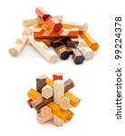 Wooden Geometric Puzzle Made...