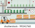 factory vector illustration | Shutterstock .eps vector #99241760
