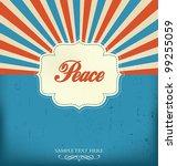 vintage design template | Shutterstock .eps vector #99255059