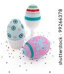easter eggs | Shutterstock . vector #99266378
