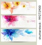 flower vector background... | Shutterstock .eps vector #99272900