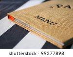 menu | Shutterstock . vector #99277898