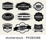 collection of premium quality... | Shutterstock .eps vector #99280388