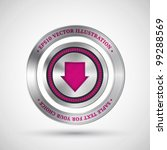 abstract technology badge ...