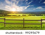 Beautiful Morning Landscape In...