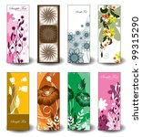 floral banners. eps10. | Shutterstock .eps vector #99315290