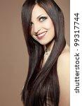 portrait of young beautiful... | Shutterstock . vector #99317744
