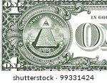 dollar pyramid on white... | Shutterstock . vector #99331424