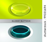 original glossy buttons for web | Shutterstock .eps vector #99331694