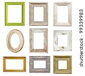 Collection of shabby chic...