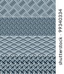 four metal textures seamless... | Shutterstock .eps vector #99340334