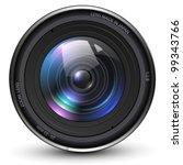 camera photo lens  vector... | Shutterstock .eps vector #99343766