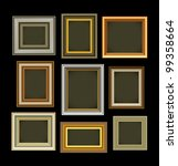 photo picture frames vintage... | Shutterstock .eps vector #99358664