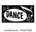 dance header   retro clipart...