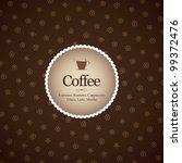 menu for restaurant  cafe  bar  ... | Shutterstock .eps vector #99372476
