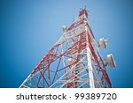 antenna of communication...   Shutterstock . vector #99389720