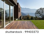 beautiful modern house with... | Shutterstock . vector #99403373