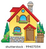 house theme image 1   vector... | Shutterstock .eps vector #99407054