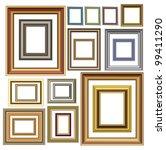 picture photo frames vector... | Shutterstock .eps vector #99411290