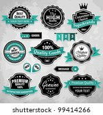 collection of vintage retro... | Shutterstock .eps vector #99414266