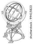 Armillary Sphere   Vintage...