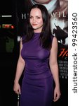 Постер, плакат: Actress CHRISTINA RICCI at