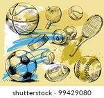 sport background   Shutterstock .eps vector #99429080