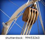 Old Sailing Boat Detail