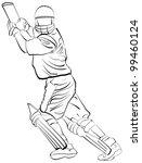 batsman | Shutterstock . vector #99460124