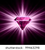 Pink Diamond On Bright...