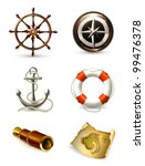 marine set high quality icons ... | Shutterstock . vector #99476378