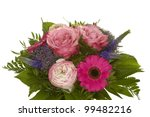 a beautiful bunch of flowers | Shutterstock . vector #99482216