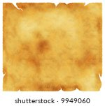 Old textured paper with tattered edges - retro background - stock photo