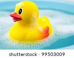 Bath Time And Rubber Duck In...